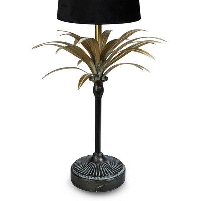 Palma lampfot H65 - Guld