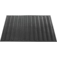 Dörrmatta - Wave - Gummi - 90x150 cm