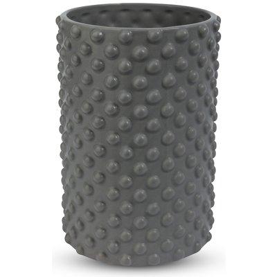 Vas Bubbel H22 cm - Grå