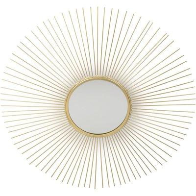 Spegel Sol - Guld