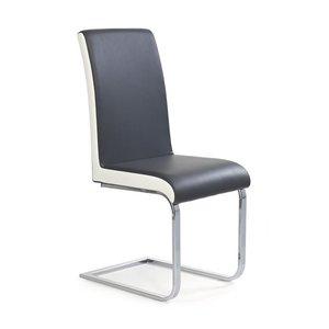 Eli stol - grå/vit