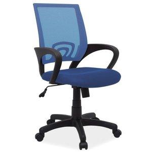 Emmalee skrivbordsstol - Blå