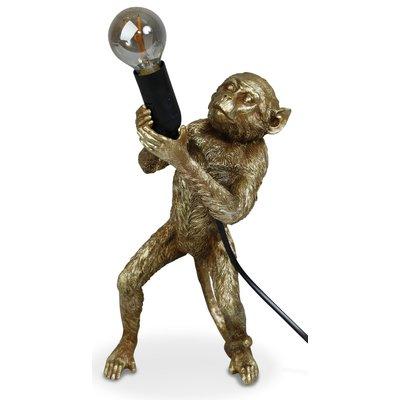 Monkey Bordslampa H40 - Guld