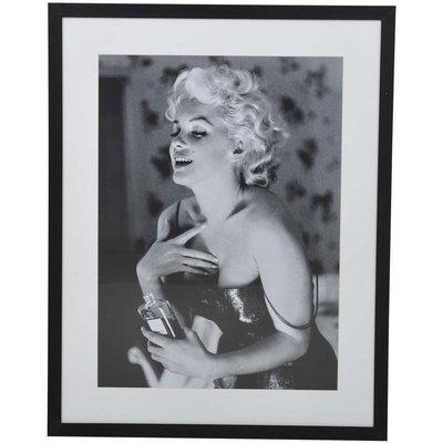 Villa tavla Marilyn pose - Svart/vit