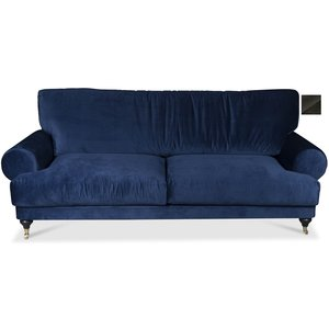 Amelia 4-sits soffa - Mörkgrå