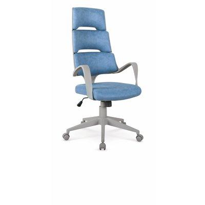 Jarrod kontorsstol - Grå/blå