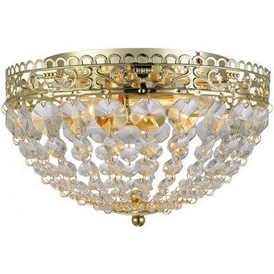 Saxholm Kristallplafond - Guld/Kristall