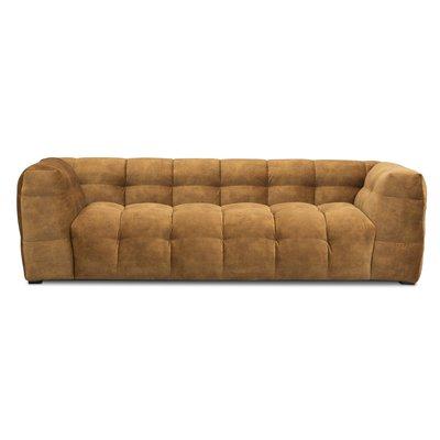 Nova 3-sits soffa - Guld sammet