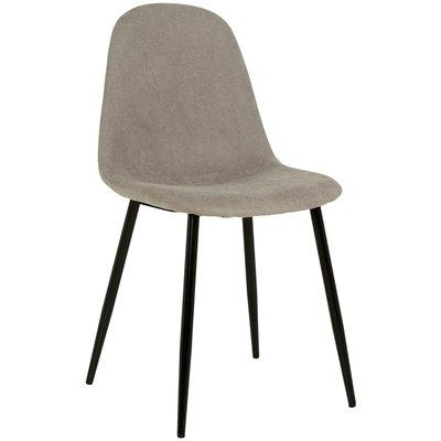 Carisma stol - Ljusgrå (Tyg)