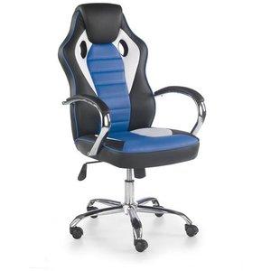 Begum skrivbordsstol - Vit/svart/blå