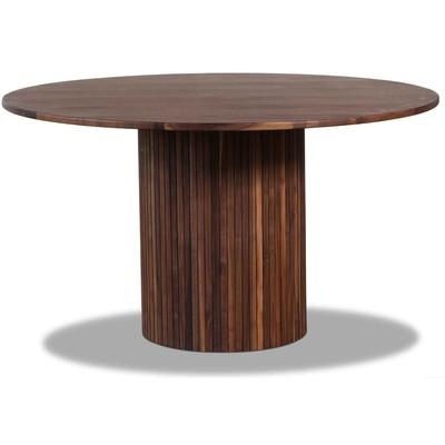 Circle matbord Ø130 cm - Valnöt