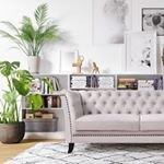 Milton Chesterfield 2-sits soffa. V?lj kl?dsel bland ?ver 200 m?beltyger!