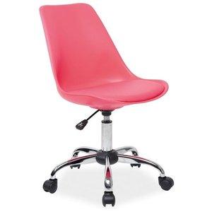 Carlee skrivbordsstol - Rosa