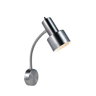 Glommen Vägglampa - Borstad Stål