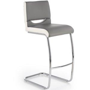 Thyra barstol - Vit/grå