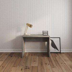 Elwin skrivbord - Betong