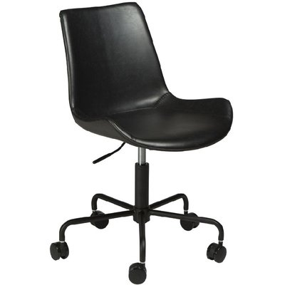 Hype kontorsstol - Vintage svart